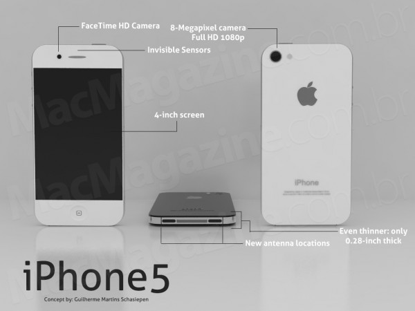iPhone 5 Konzept