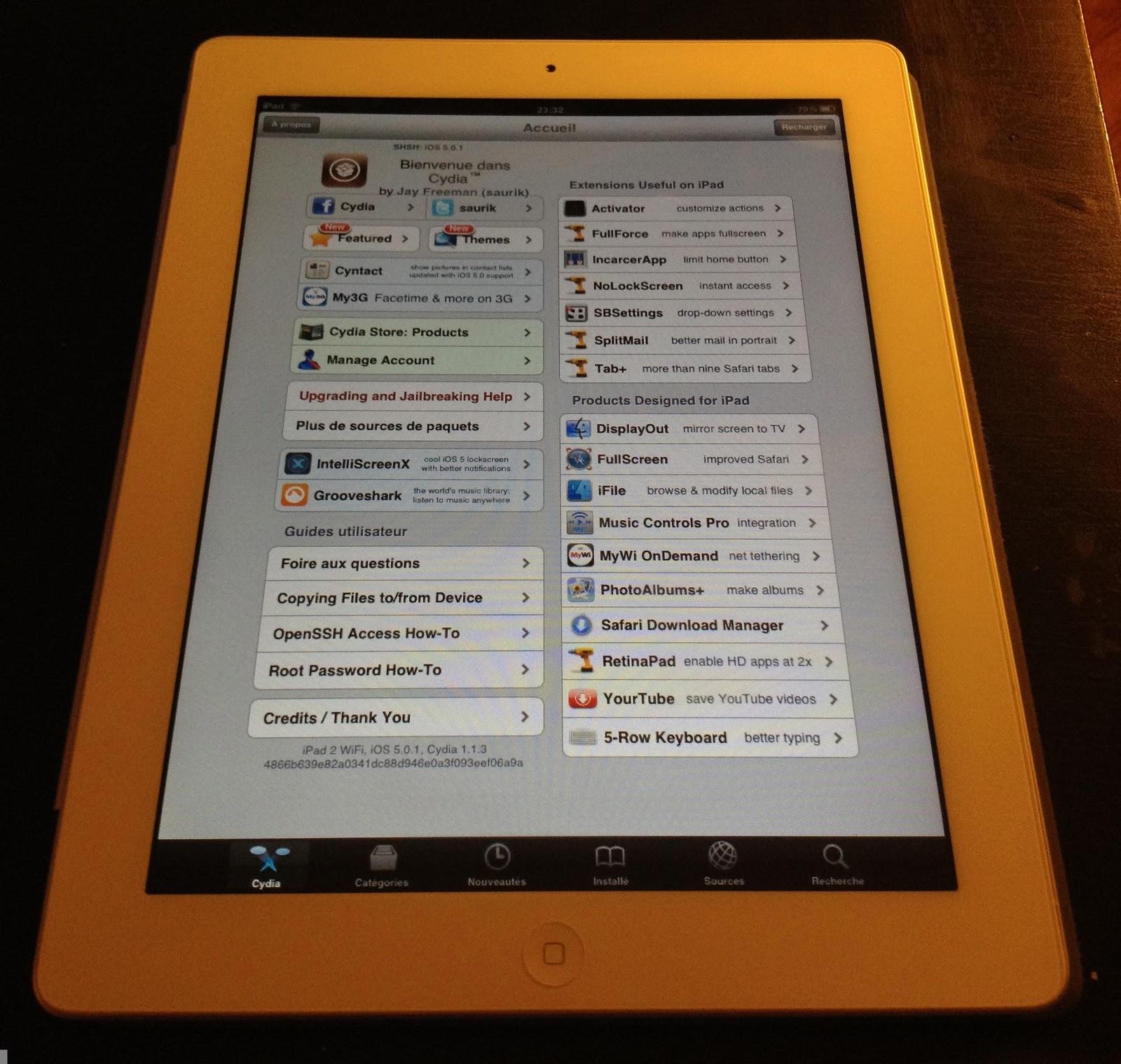 iPad 2 untethered