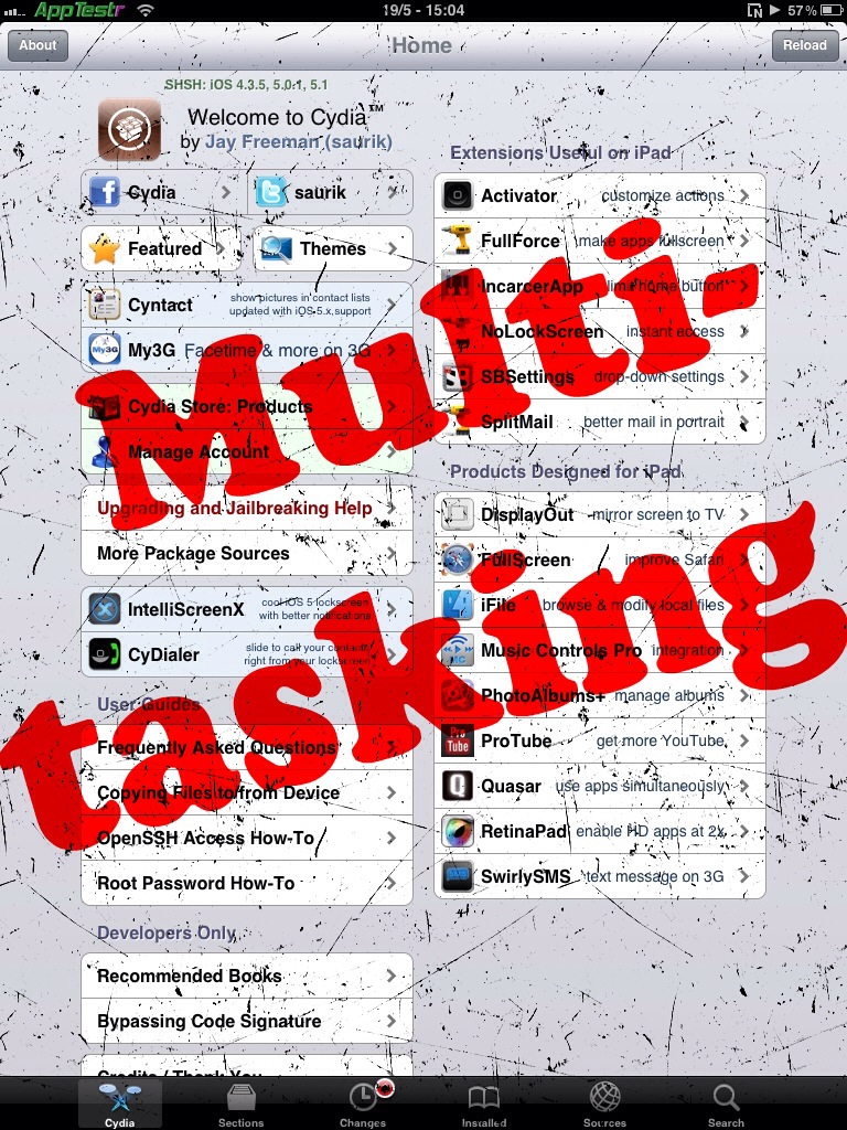 Cydia Multitasking