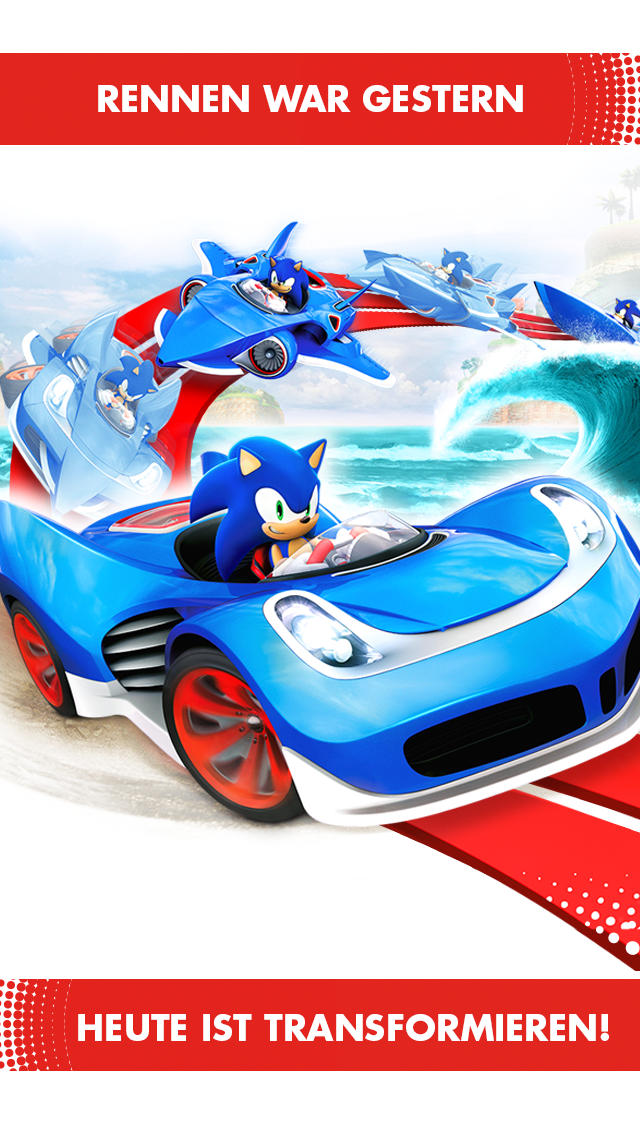 Sonic All Star Transformed