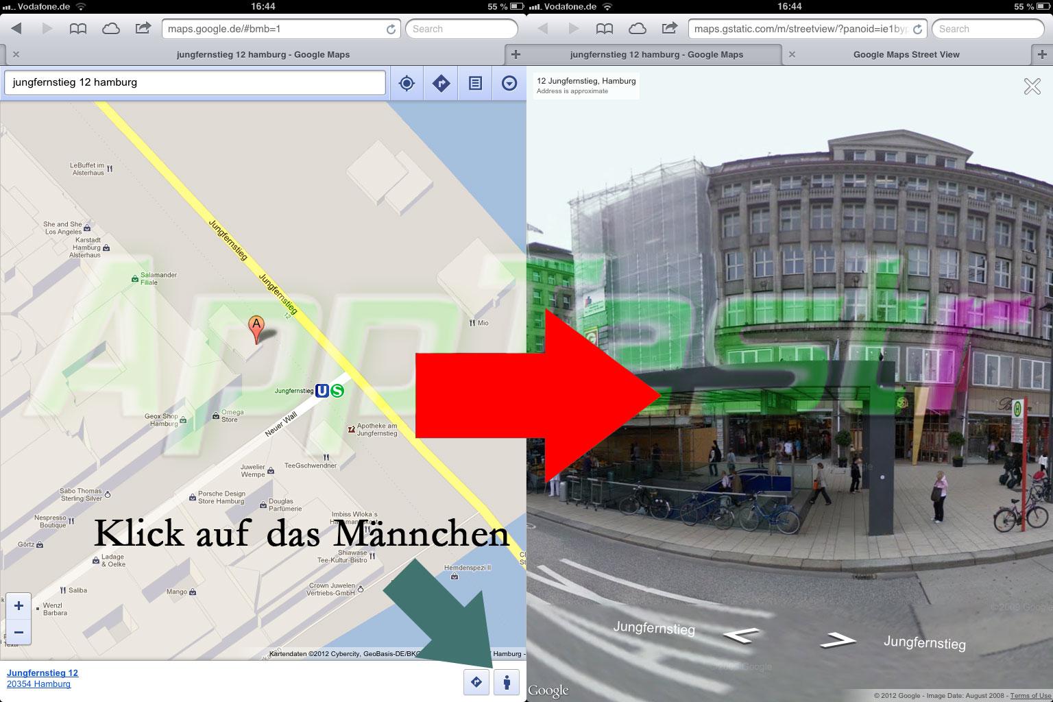 Streetview-auf-iOS