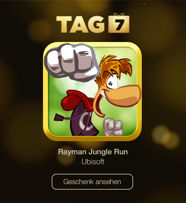 Tag 7 Rayman Jungle Run