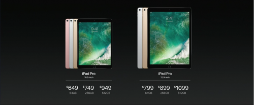iPad Pro 2017 Preise