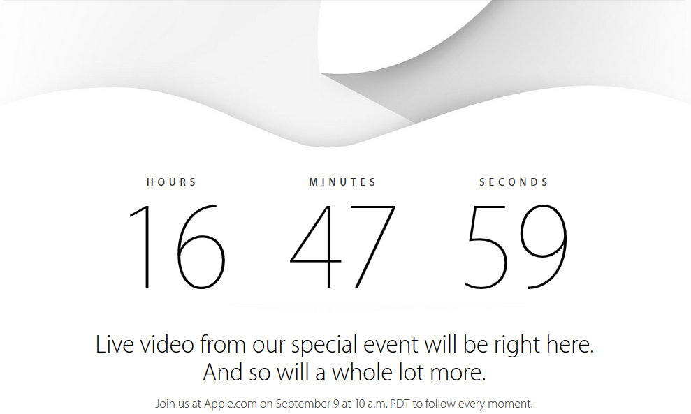 iPhone 6 Even Countdown